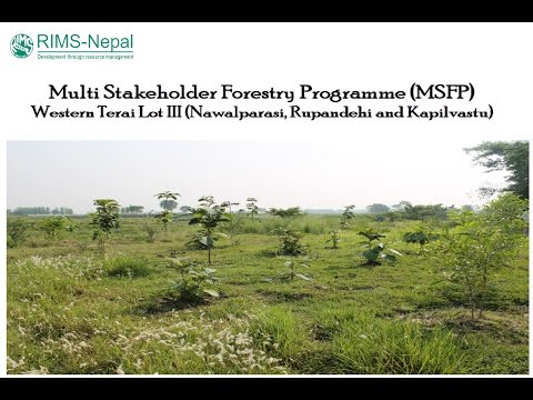 Forestry and Livelihood Improvement Programme of RIMS-Nepal