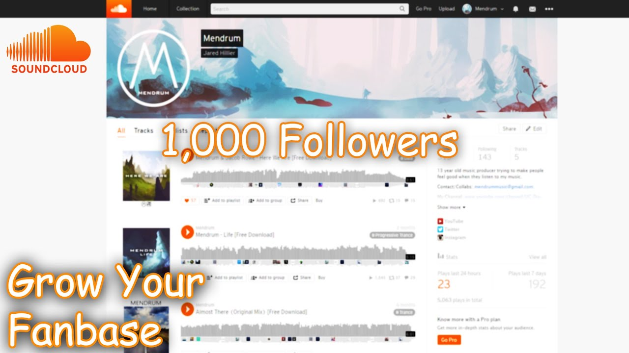 How To Gain Followers On SoundCloud! - BEST METHOD!