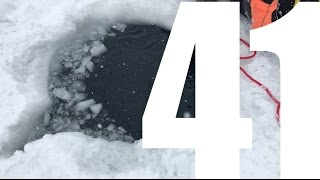 Daily Vlog Val Thorens- ice diving  - Day 41