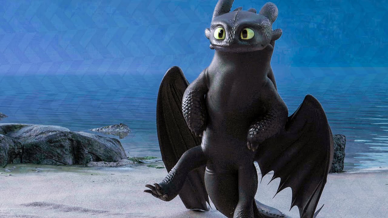 Download Toothless Dances For The Light Fury Scene - HOW TO TRAIN YOUR DRAGON 3 (2019) Movie Clip