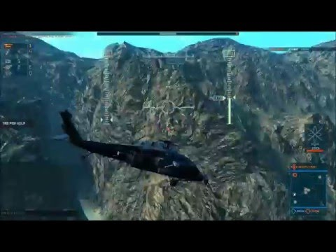Heliborne - Steam Early Access Gameplay 4 (Afghanistan,Badakhshan Provice)