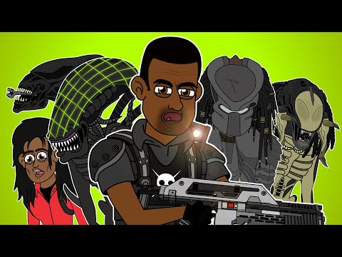 ♪ ALIEN VS PREDATOR THE MUSICAL - Animated Parody Song