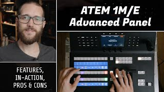 ATEM 1M/E Advanced Panel - Features, in-action, and more // Show and Tell Ep.71