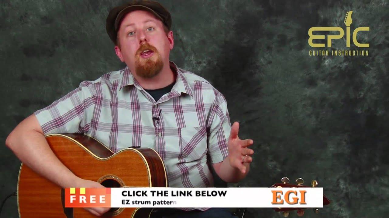 Learn Darius Rucker Wagon Wheel Super Easy Fun Guitar Song Lesson