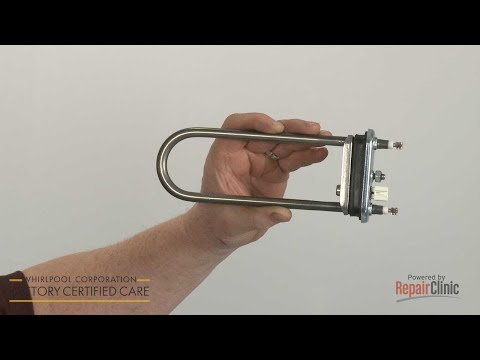 Heating Element - Whirlpool Washer Model #WFW85HEFW0