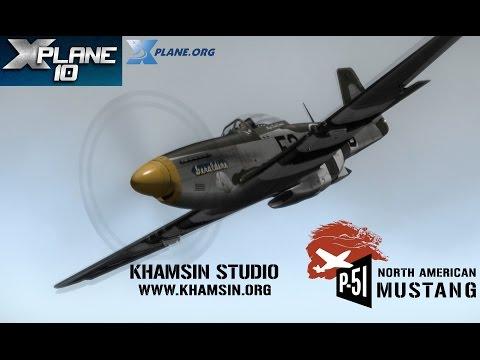 Khamsin Studio - P-51D North American Mustang for X-plane 10
