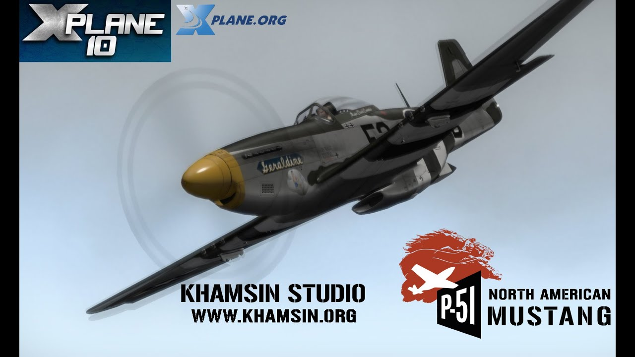 Khamsin Studio - P-51D North American Mustang for X-plane 10