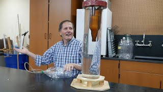 Physics of toys-Big Cartesian divers-part 2 // Homemade Science with Bruce Yeany
