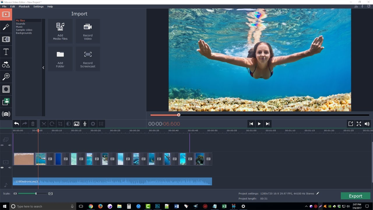 Movavi Video Editor Review & Tutorial - Movavi Video Editor Step By Step Demo