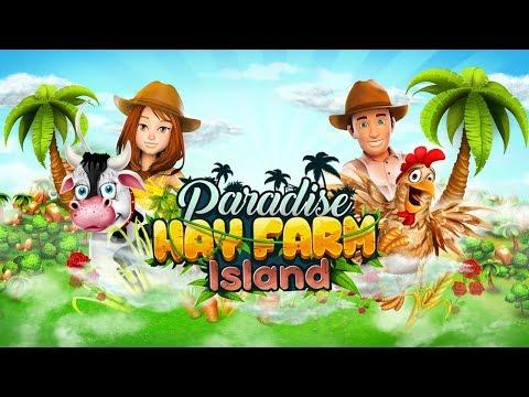 Paradise Hay Farm Island - Offline Game