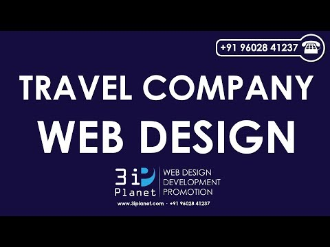 Travel Company Website Design Company Udaipur, Rajasthan, India