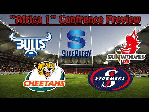 "2017 Super Rugby ""Africa 1"" Squads Preview"