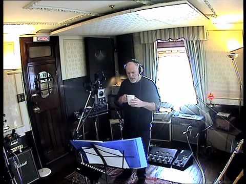 "David Gilmour recording ""A Pocketful of Stones"" in Astoria (www.davidgilmour.com)"