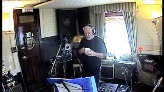 "David Gilmour recording ""A Pocketful of Stones"" in Astoria (www.davidgilmour.com)"