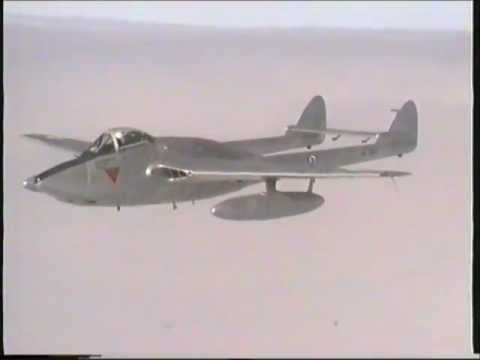 Scandinavian Historic Flight  De Havilland Vampire