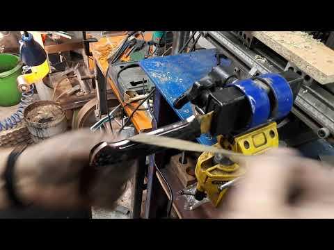 Carbon fiber handle/ WIP.