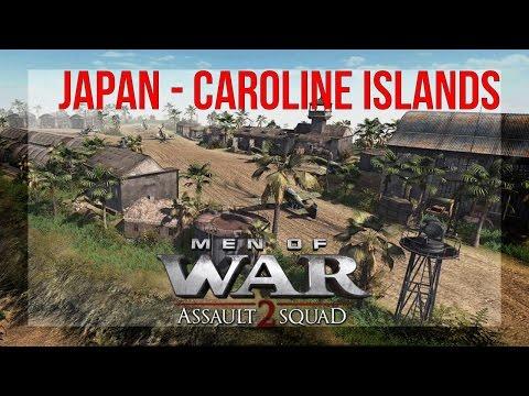 Men of War: Assault Squad 2 - [Japan] - Caroline Islands