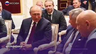 Президент посмотрел фильм «Салют-7»