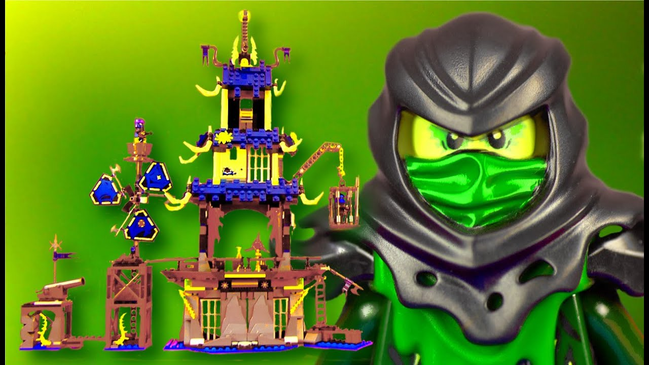 lego ninjago 70732 city of stiix youtube
