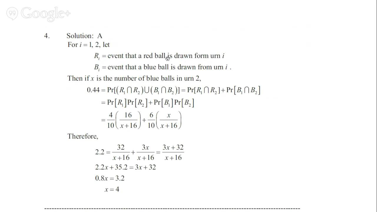 probability problems with solutions pdf for bank exams