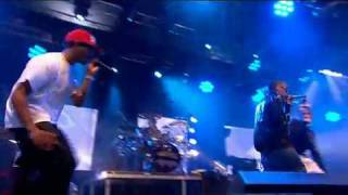 N Dubz Number One feat tinchy stryder BBC Radio 1's Big Weekend live 2009