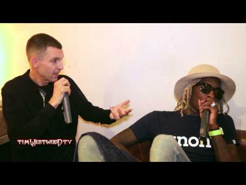 Young Thug backstage in London - Westwood
