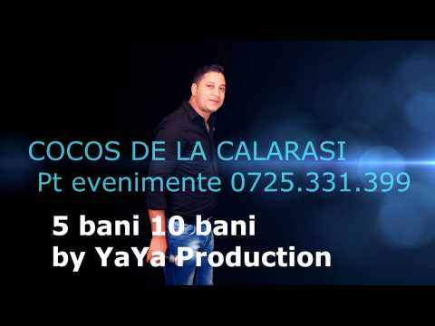 COCOS DE LA CALARASI - 5 BANI 10 BANI