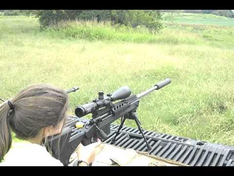 Suppressed 338 Lapua Magnum