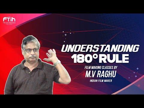 Understanding 180 Degree Rule|| MV Raghu Filmmaking Classes || FTIH FILM SCHOOL