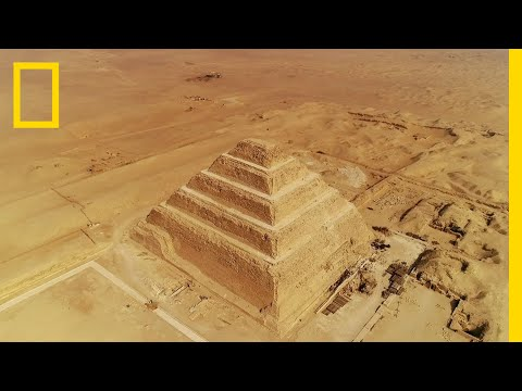 The Evolution of Ancient Egypt's Pyramids | Lost Treasures of Egypt