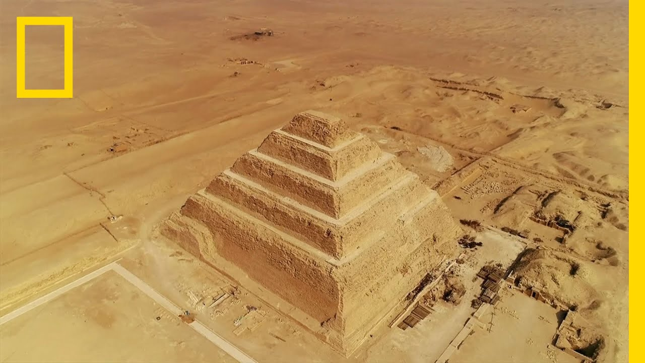 The Evolution Of Ancient Egypt S Pyramids Lost Treasures Of Egypt Youtube