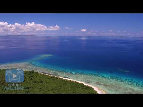 'Above the Fiji Islands' 4K