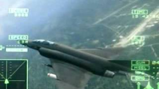 Ace Combat 5: Mission 6 - White Bird I (part 2). [ACE Difficulty] F-4E Phantom