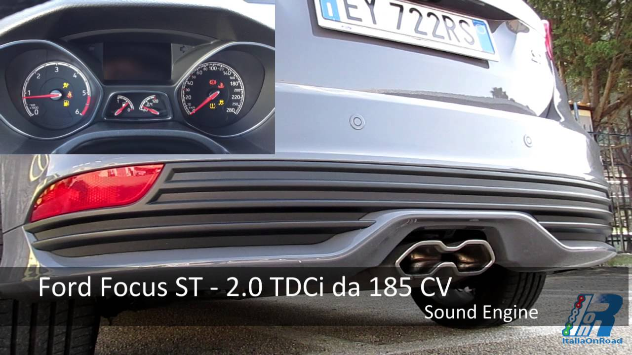 0 100 km h ford focus st sound engine youtube. Black Bedroom Furniture Sets. Home Design Ideas