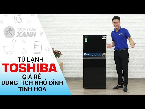 Tủ Lạnh Toshiba Inverter 171 Lít GR-M21VUZ1 UKK - Giá Siêu Rẻ, Dung Tích Nhỏ đỉnh   Điện Máy XANH