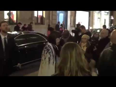 Hanaa ben abdesslem, Uma Thuman  ,Rita Ora