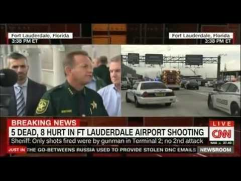 Ft Lauderdale Airport Shooter used a legal checked weapon Press Conference