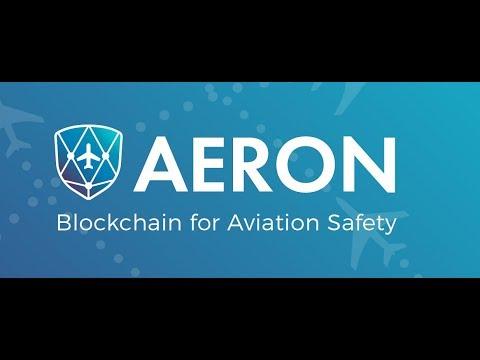 Aeron: Connecting Blockchain to aviation safety