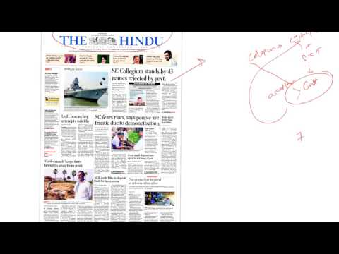 19 NOV 2016 THE HINDU AND IE BY LAEX,HYD/Insights