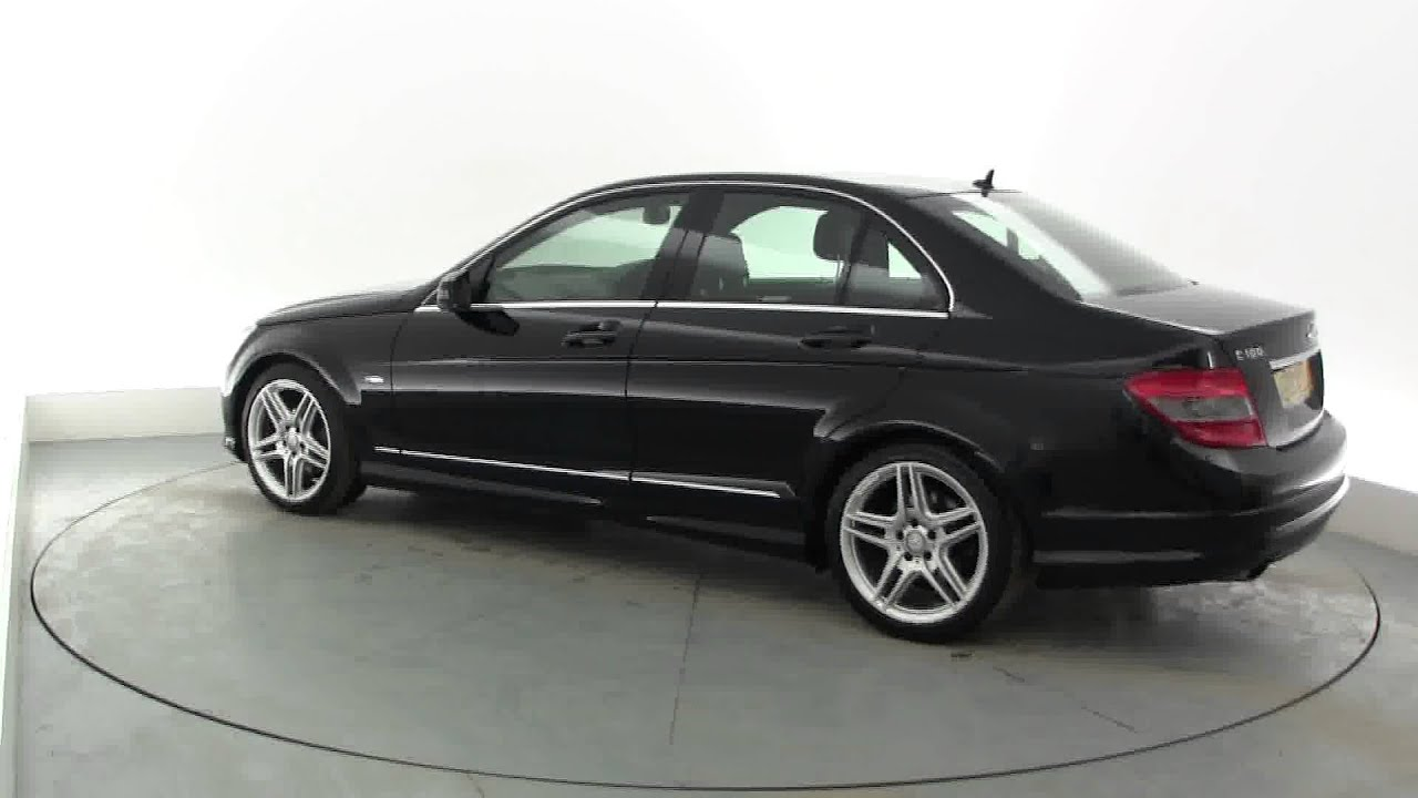 2010 mercedes c class c180 kompressor blueefficiency sport youtube. Black Bedroom Furniture Sets. Home Design Ideas