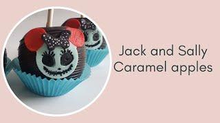 Jack and Sally Caramel Apples