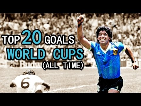 TOP 20 GOALS  WORLD CUPS