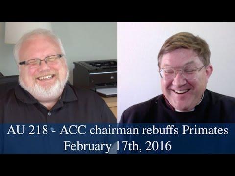 AU 218 - ACC Chairman rebuffs Primates