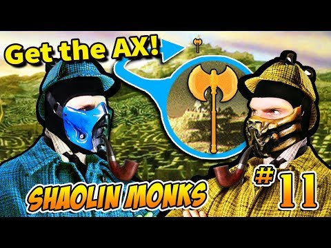 Scorpion & Sub Zero play - Mortal Kombat: Shaolin Monks part 11 | MKX PARODY! thumbnail