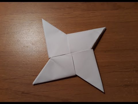 comment faire un shuriken #facile #ninja