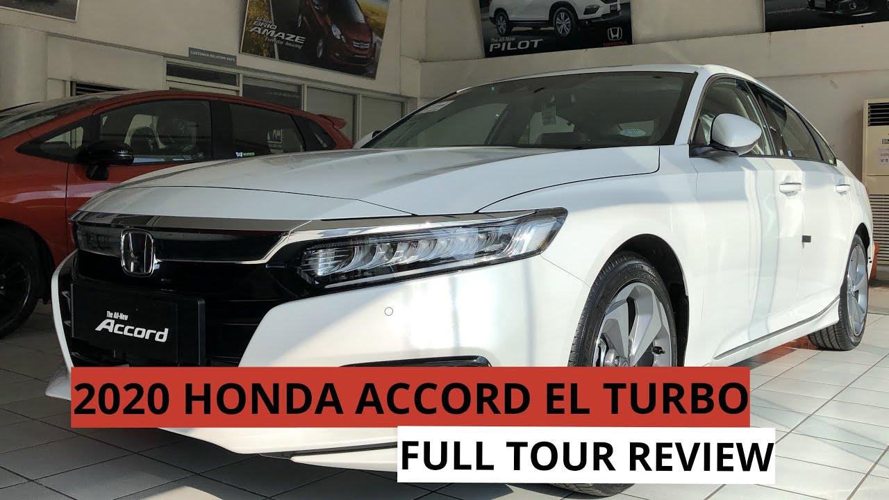 Accord 2020 Review.All New 2020 Honda Accord El Turbo 1 5l Full Tour Review