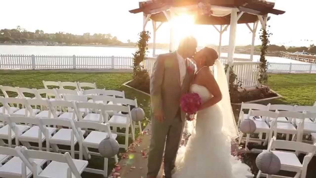 Newport Dunes Wedding Video Same Day Edit Kimberly Kevin