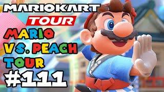 Mario Kart Tour: Mario VS Peach Tour 1vs6?? Gameplay Walkthrough Part 111