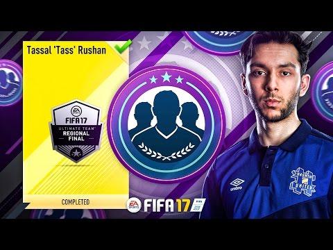 I AM IN FIFA 17! FUT Championship Tass SBC...