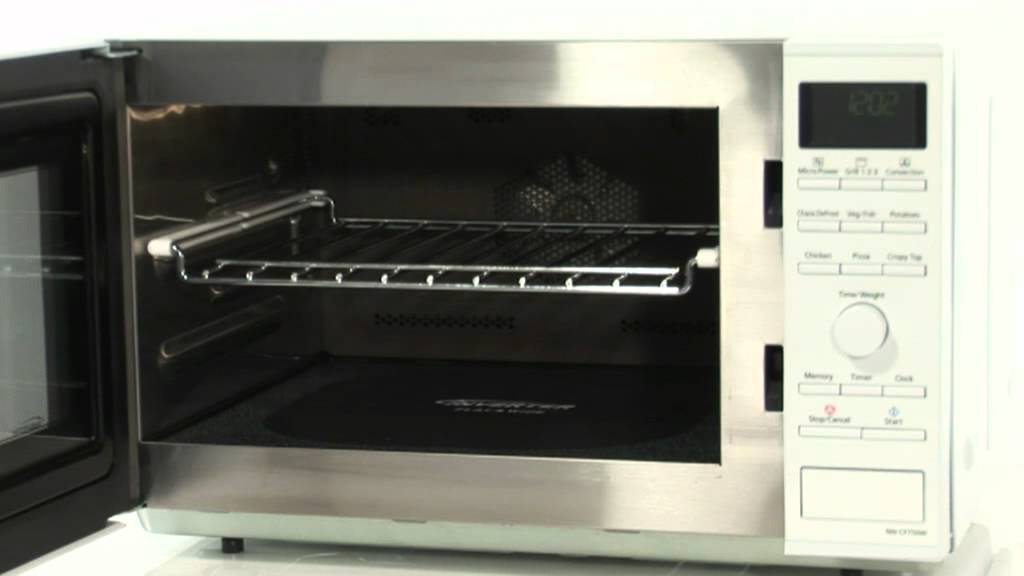 The Panasonic Nn Cf750wbpq Combi Microwave Youtube